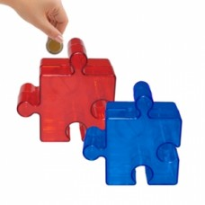 Puzzles in the shape of a puzzle