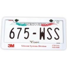 Car plate holder
