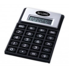 Calculator with flexible keyboard