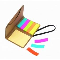 Memo Box with Elastic Stick Me