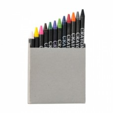 Box with 12 crayons