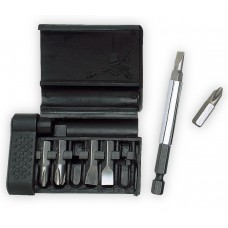Screwdriver in six-piece case