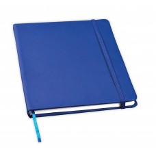 Notebook with elastic polyurethane lining