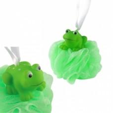 Bath sponge with FROG