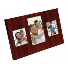 Triple laminated photo frame