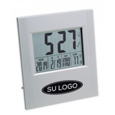 Wuhan Clock with Thermometer and Calendar