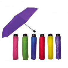 Paraguas de bolsillo BRASILIA mango plastico PROMOCIONAL